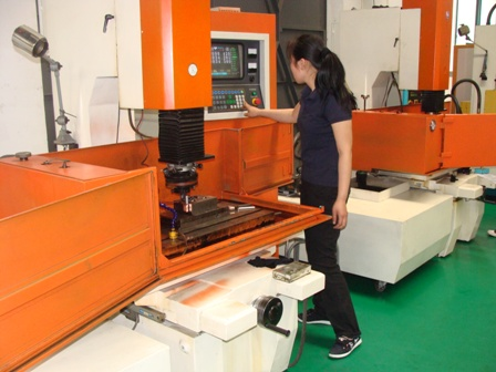 EDM injection moulding